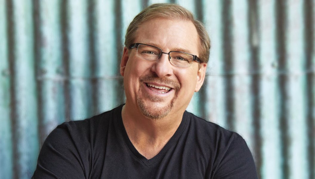 Rick Warren author image