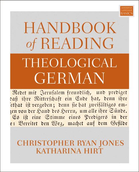 Handbook of Reading Theological German