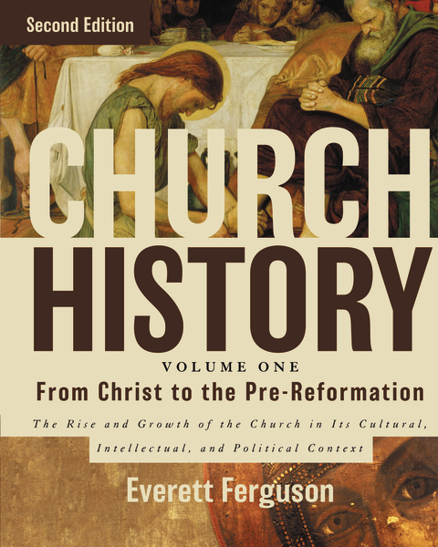 Church History, Volume One: From Christ to the Pre-Reformation