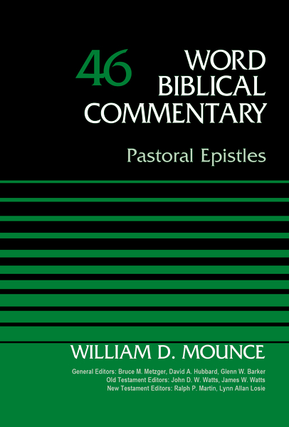 Pastoral Epistles, Volume 46