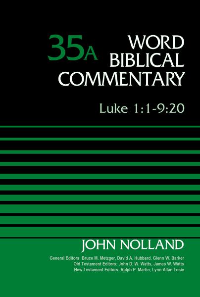Luke 1:1-9:20, Volume 35A