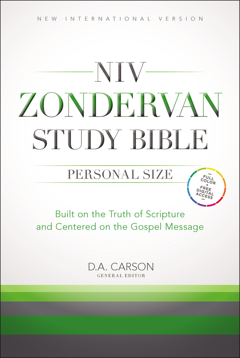 Image for NIV, Zondervan Study Bible, Hardcover: Built on the Truth of Scripture and Centered on the Gospel M
