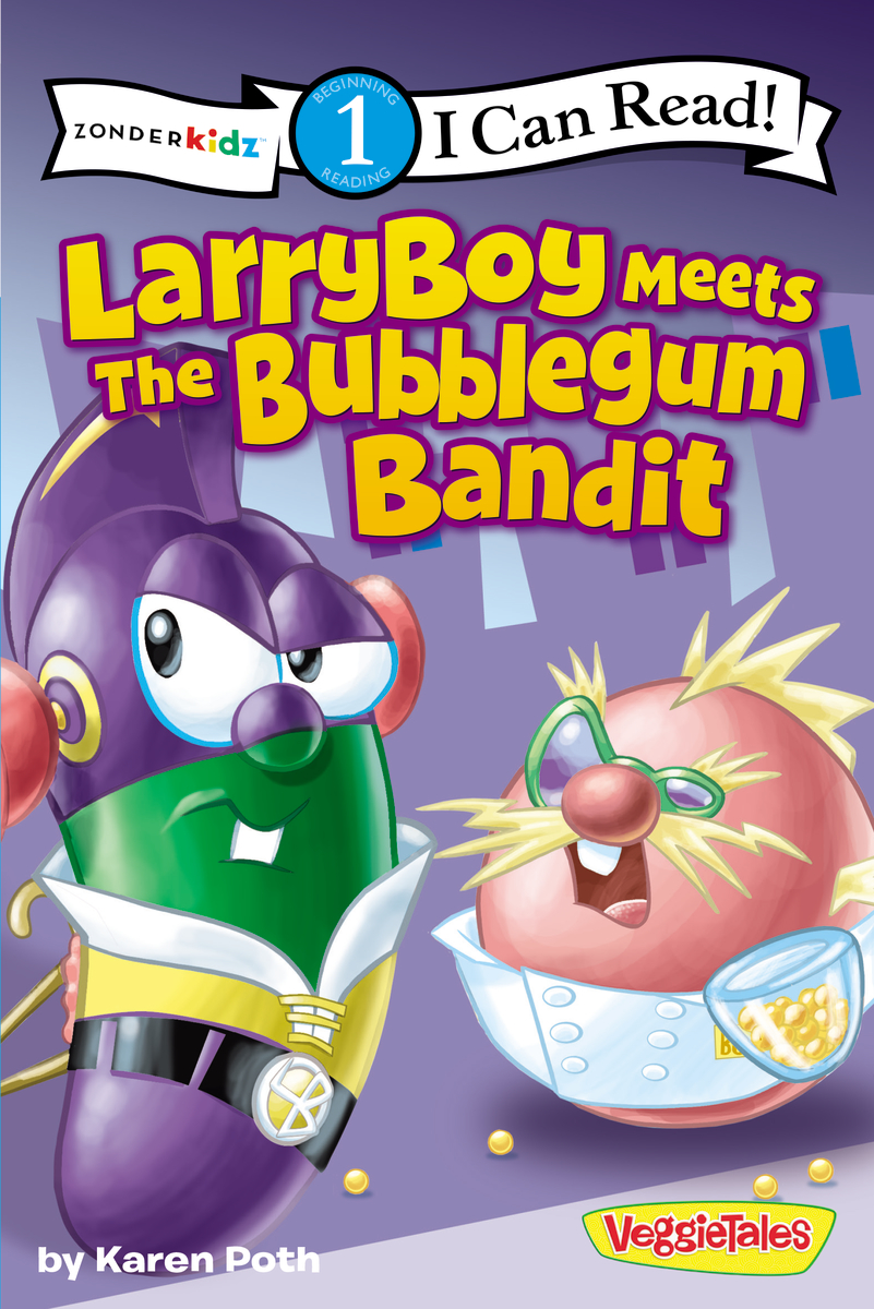 Image for Veggie Tales: Larryboy Meets Bubblegm (I Can Read)