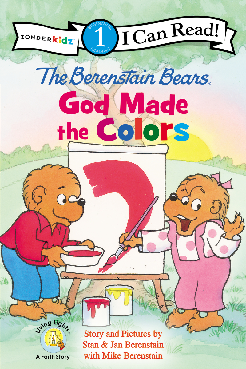 Image for The Berenstain Bears, God Made the Colors (I Can Read!  Berenstain Bears  Living Lights)