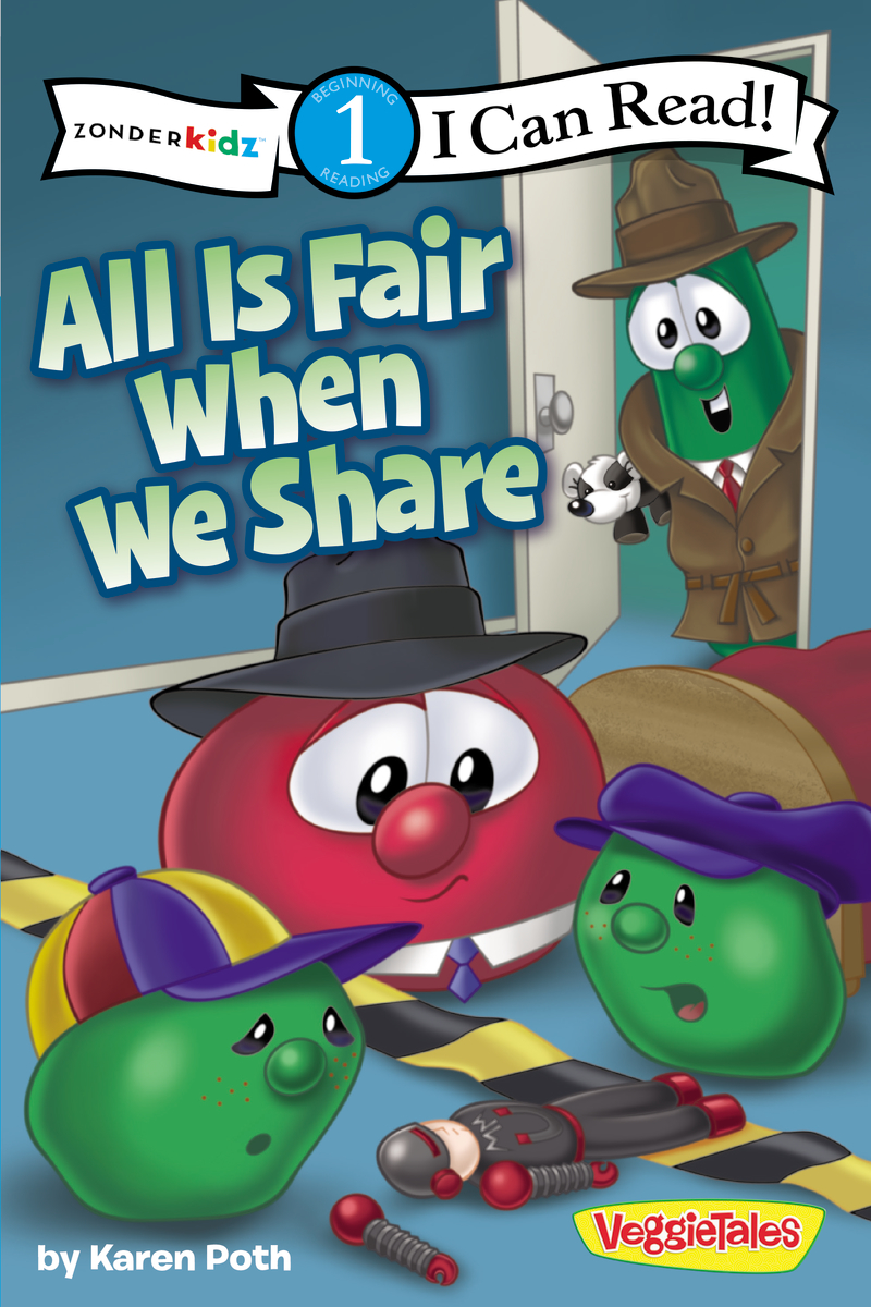 Image for Veggie Tales: All Is Fair When We Share (I Can Read)
