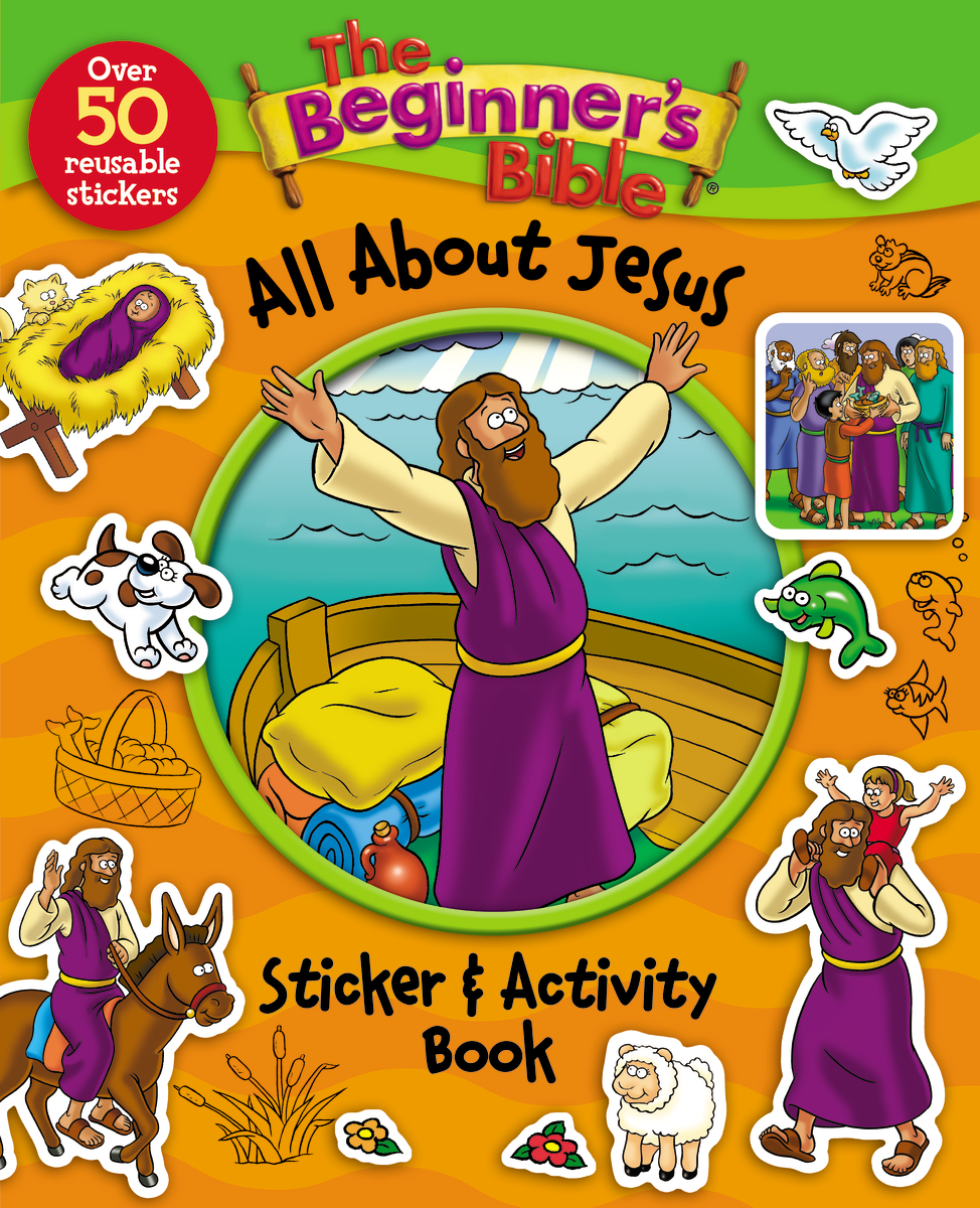 Image for Beginner's Bible All About Jesus Sticker And Activity Book