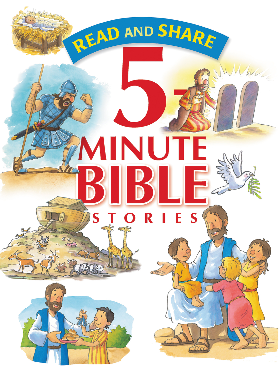 Image for Read And Share 5 Minute Bible Stories