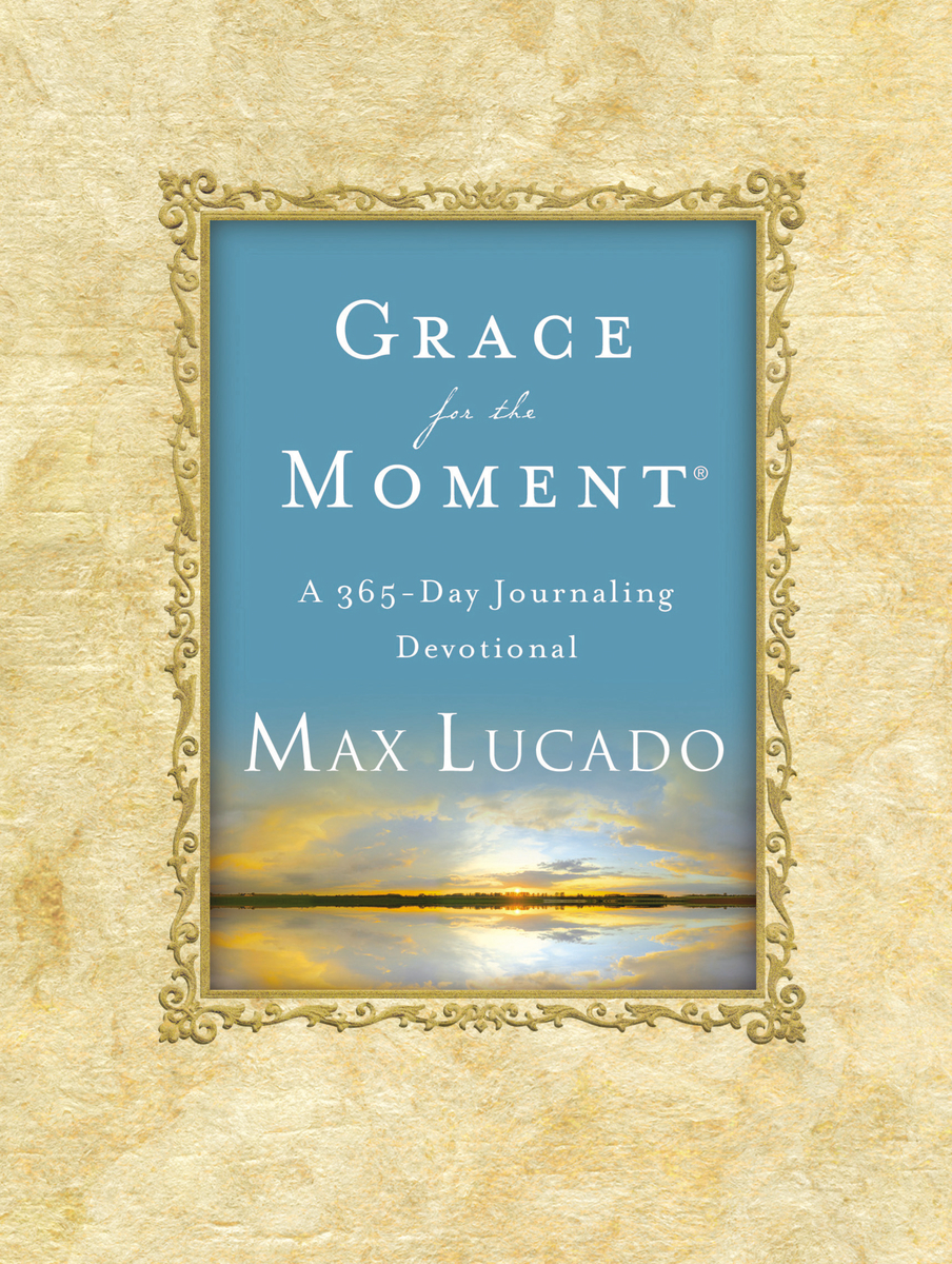 Image for Grace for the Moment: A 365-day Journaling Devotional